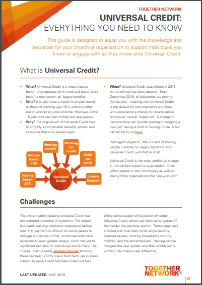 Universal Credit | Capital Mass